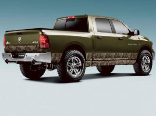 New 2009 2012 Dodge RAM Mega Cab 6 4 Bed Mossy Oak Camo Decal Mopar