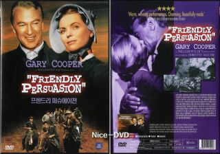 Friendly Persuasion 1956 DVD New Gary Cooper Dorothy McGuire