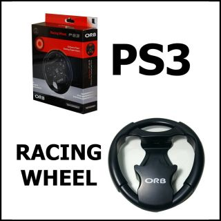 PlayStation PS3 Car Game Racing Steering Driving Gaming Wheel Control