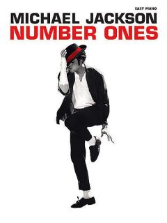 Michael Jackson Number Ones Easy Piano Song Book