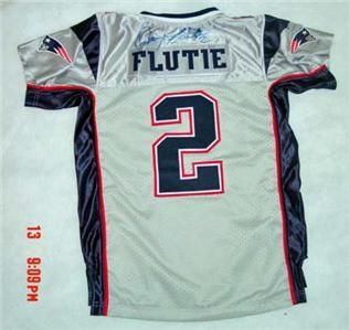 Doug Flutie New England Patriots Signed Practice Shirt