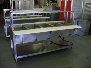 E305M Duke Aerohot 5 Compartment Hot Food Table Unit Electric Steam