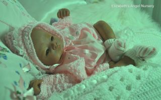 Elizabeths Angel Nursery Reborn Newborn Baby Girl Shannon Ltd Ed 115