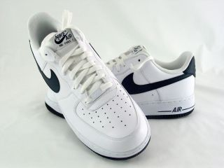Nike Air Force 1 White Obsidian 488298 105