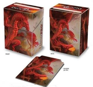 Easley Dragon Mtg Deck Box Holds Card Sleeves