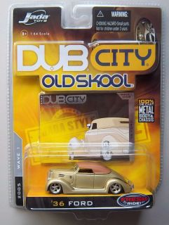 36 Ford Gold Dub City Oldskool Diecast Model Car