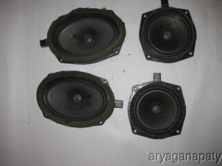 02 03 04 05 Mitsubishi eclipse OEM speakers infinity STOCK factory x4