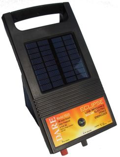 DS 20 Solar Electric Fence Energizer Ideal for Gardens