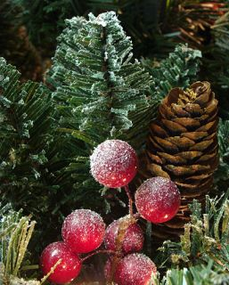14 PRE LIT FROSTED EDINA FIR ARTIFICIAL CHRISTMAS GARLAND