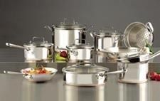 Emerilware Stainless Steel 14 PC Cookware Sets by All Clad