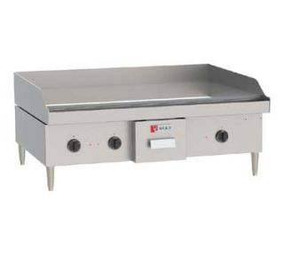 Wolf WEG36D Electric Griddle 16 2 KW 36w x 24D x 1 2 Polished Steel
