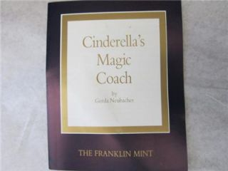 Cinderellas Magic Coach by Gerda Neubacher The Franklin Mint RARE