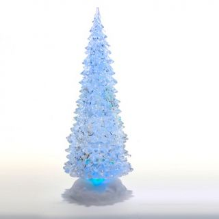 Holiday Accents Kurt Adler 12 Acrylic LED Color Changing Tree