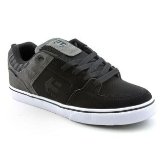 Etnies Kids Sheckler 6 Youth Kids Boys Size 7 Black Nubuck Leather