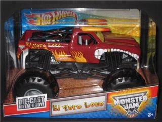 Hot Wheels Monster Jam El Toro Loco 1 24 Scale Diecast Monster Truck