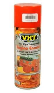 VHT SP123 Chevy Orange High Temperature Engine Paint