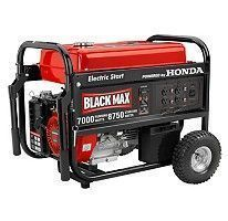 Blackmax Honda Engine 7000 Watt Generator