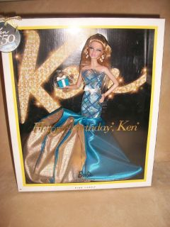 Happy Birthday Ken 2011 Pink Label Barbie Doll 50th Anniversary NEW IN
