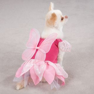 Fairy Tails Pink Costume for Dogs   Halloween Dog Costumes   CLOSEOUT