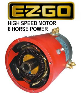 EZGO Golf Cart Series High Speed Electric Motor 8 Horse Power