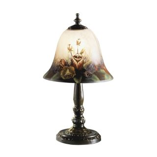 112 5562 dale tiffany rose bell accent lamp rating be the first to