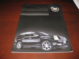 2008 Cadillac Escalade Sales Brochure ESV Ext