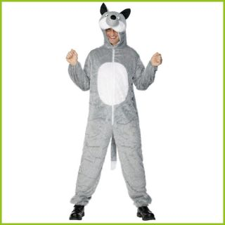 Adult Zoo Farm Jungle Animal Fancy Dress Suit Costume Unisex Mens