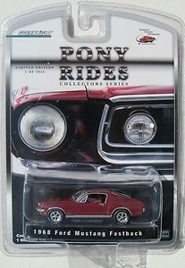 GREENLIGHT 1968 FORD MUSTANG FASTBACK GT LIMITED EDITION 1 2016