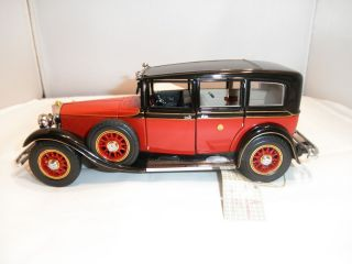 1935 Mercedes Benz 770K Franklin Mint Emperor Hirohito car 1 24 scale