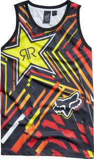Fox Racing Rockstar Energy Drink Spike Vortex Basketball Jersey / Tank