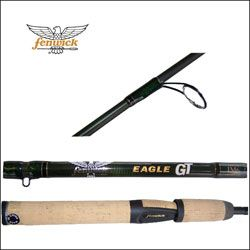 New Eagle Fenwick GT spinning rod. 5 6 2 piece , Medium Heavy Action
