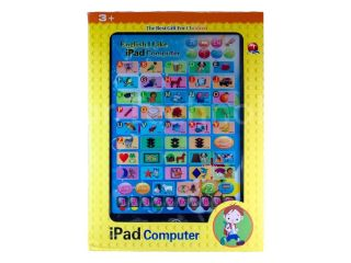 English Learning Touch Tablet Computer for Children Baby Kids Toy
