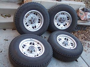 Ranger Explorer Factory Wheels and Stock Size Goodyear Tires