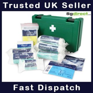 Essential HSE Workplace First Aid Kit Box 5GM000102 5GM000103