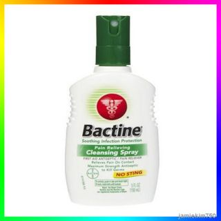 Bactine Pain Relieving Cleasing Spray First Aid 150ml