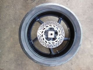 Yamaha FZ1 FZ 1 1000 R1 R 1 Rear Wheel Rim Tire Hub Disk Brake Axle