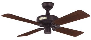 Hunter Classic Original 42 42 Ceiling Fan Model 22289 in New Bronze
