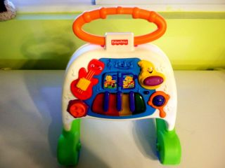 Fisher Price Brilliant Basics Musical Activity Walker excellent