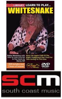 Learn to Play Whitesnake Guitar Lick Library DVD New