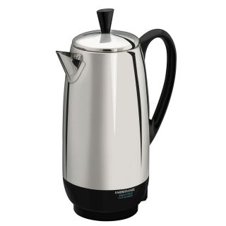 Farberware FCP412 12 Cup Percolator Stainless Steel