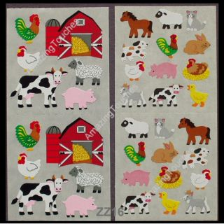 Sandylion Scrapbooking Farm Barn Animal Sticker ZZ16