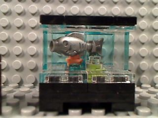 Lego Fish Tank Chairs House Decor Aquarium Room Furniture Town Friends