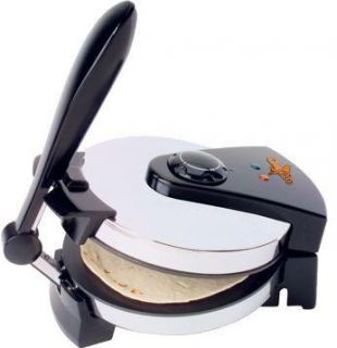 Roti Chef Pro Electric Tortilla Maker Flatbread 8 110V