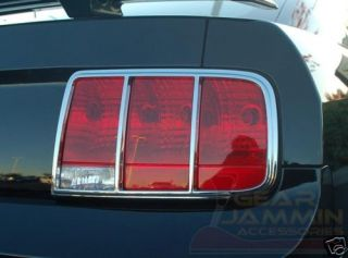 Ford Mustang Chrome Taillight Covers Bezels 05 07 08 09
