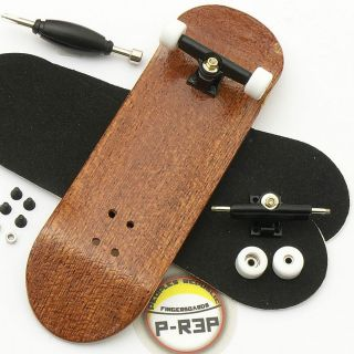 Wooden Fingerboard Complete Peoples Republic Mahog Performance Tuned