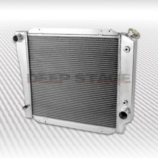Tri Core 3row Cooling Radiator 66 77 Ford Bronco Wagon Roadster