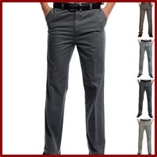 News Men Stylish Casual Formal Straight Pant Business Trousers