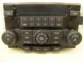 Ford Focus 2009 2008 Radio CD Player Sirius  8S4T18C869EM Player