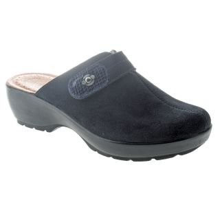 Fly Flot Carly Comfort Suede Leather Clogs Womens Shoes All Sizes