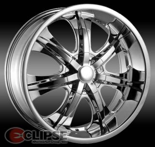 Elure 025 Wheels Rims 5 or 6 Lug Rear Wheel Drive Cars Trucks